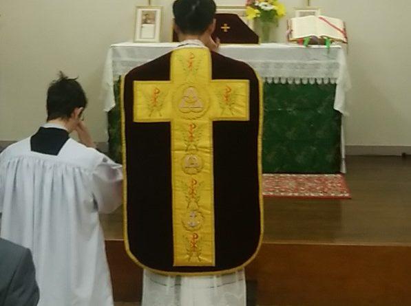 Messe pour Louis XVI au Japon à l'occasion du 21 janvier.