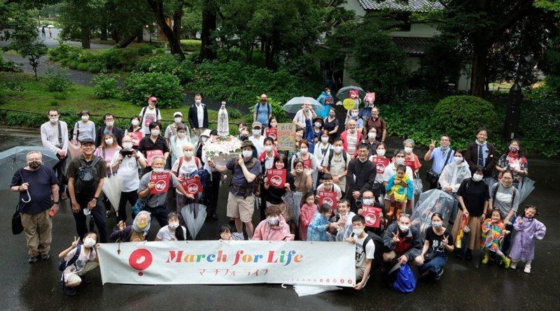 Marche pour la vie Japon Tokyo