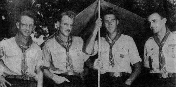 Jean Raspail jeune scout