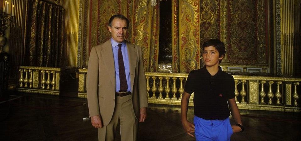 Alphonse II et le futur Louis XX