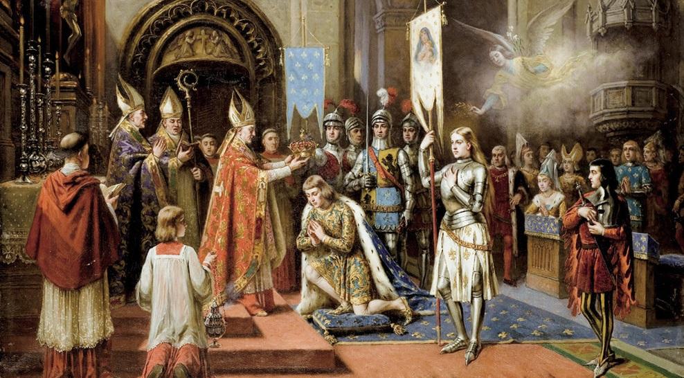 Sacre Charles VII Jeanne d'Arc