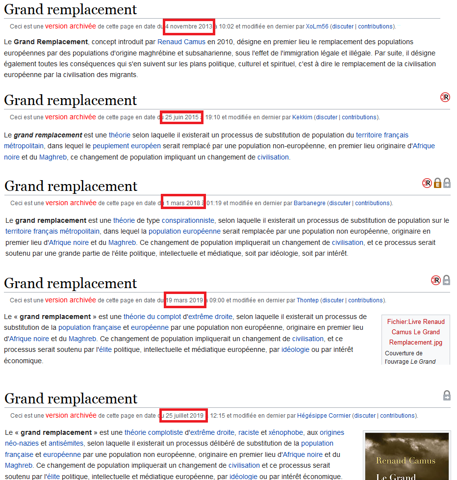 wikipedia grand remplacement