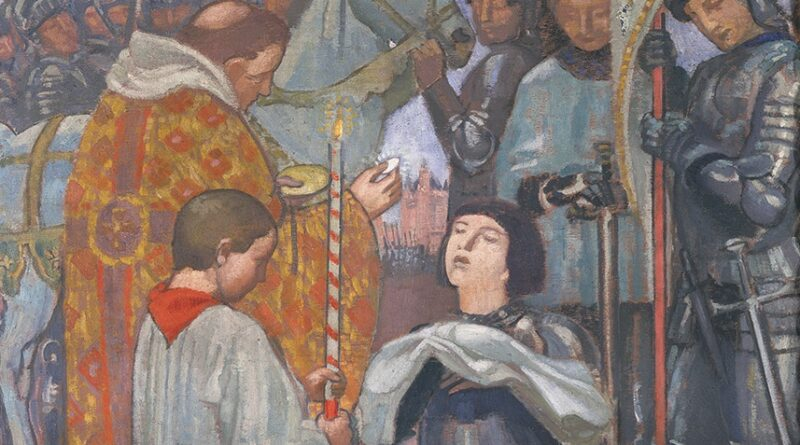 Maurice-Denis-La-communion-de-Jeanne-d-Arc