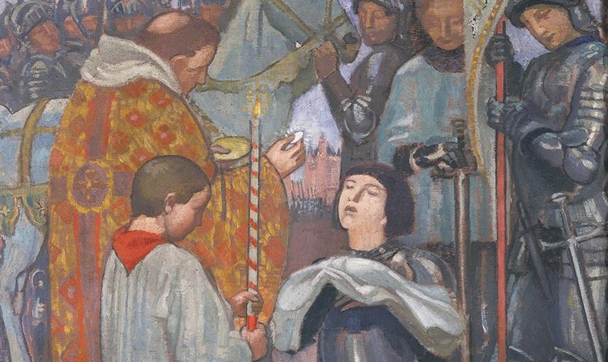 Maurice-Denis-La-communion-de-Jeanne-d-Arc
